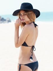 Natalie Morris On The Beach