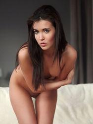Malvina Sexy Teen Shows Pussy