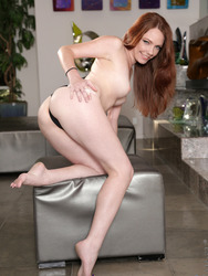 Nubiles.net Kassondra Raine - Ultra Hot Redhead Fondles Her Soaking Wet Pink Pussy