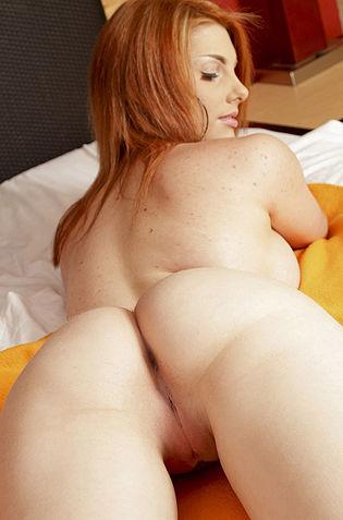 Mighty Curvy Redhead
