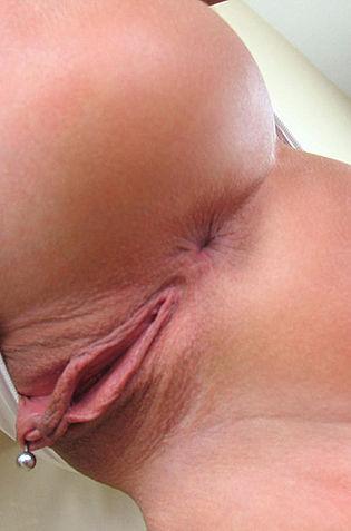 Sexy MILF With Pierced Pussy