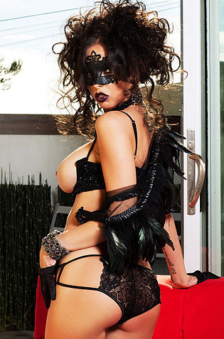 Masked Babe Brandy Aniston