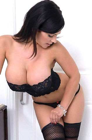 Busty Denise In Bathroom