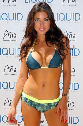 Tan Babe Arianny Celeste In Bikini