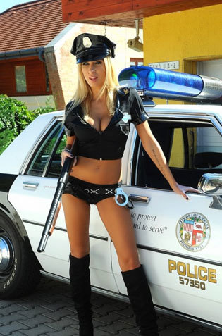 Big Titted Policewoman