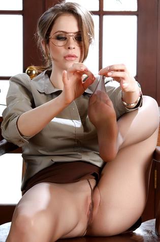 Emily Addison Hot Secretary