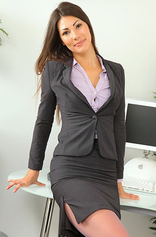 Sexy Secretary Strips
