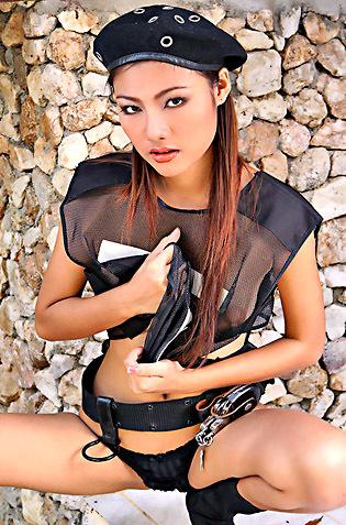 Lusty Asian Policegirl
