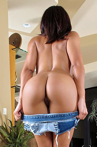 Luna Star Hot Latina Butt