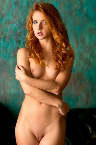 Hot Redhead Teen Roberta Berti