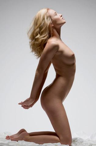 Nude Gabi Posing