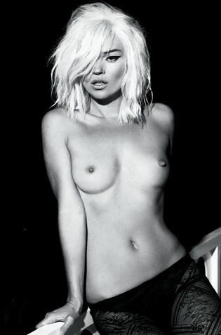 Internatonal Model Kate Moss