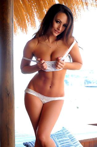 Anastasia Harris Has A Topless Weekend