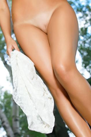 Dina P Forest Nude