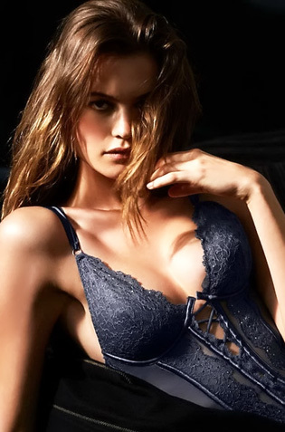 Behati Prinsloo In Sexy Lingerie Collection