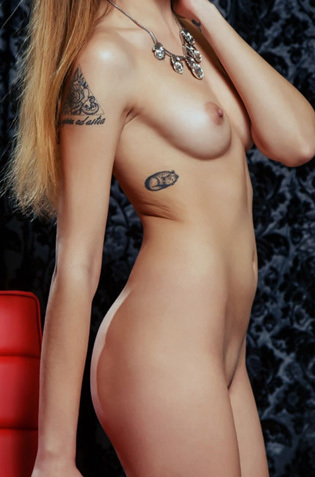 Sexy Brunette Evangelina S