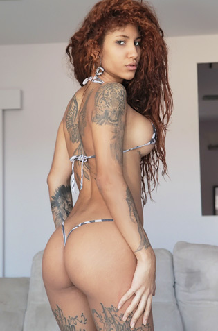 Tattooed Slut Venus Afrodita