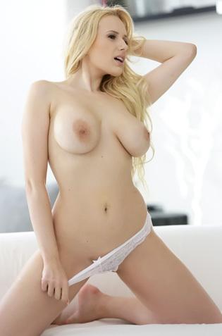 Busty Blonde Angel Wicky