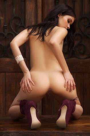 Salena Storm Naked Playboy Babe