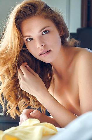 Delicious Redhead Dgil Masturbating