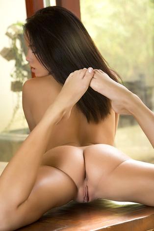 Gorgeous American Brunette Megan Rain