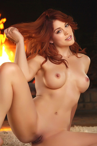 Molly Stewart In Fiery Fantasy