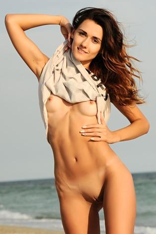 Gorgeous Ukrainian brunette Lorian